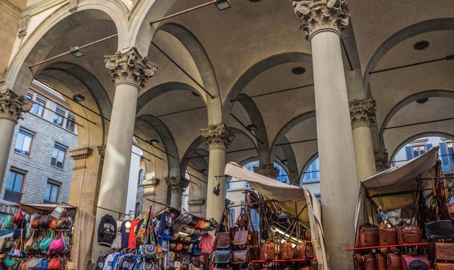 Auf einem italienischen Markt